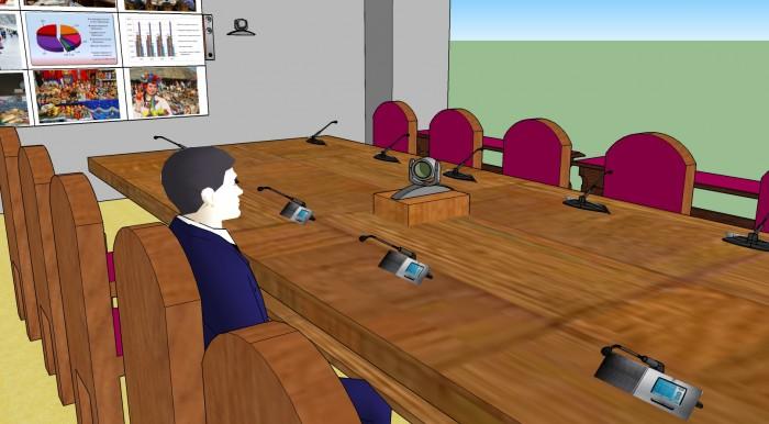 Проект конференц-зала