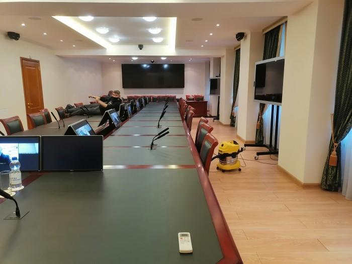Обслуживание конференц-зала